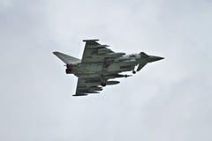 Тайфун Eurofighter на flypast Стоковые Изображения