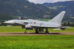 Тайфун Eurofighter стоковые изображения rf