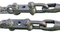 Такелажирование и веревочки металла Стоковые Изображения