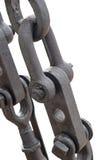 Такелажирование и веревочки металла Стоковое Изображение