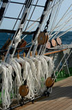 Такелажирование парусного судна Стоковое фото RF