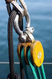 Такелажирование яхты Стоковые Изображения