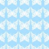 также вектор иллюстрации притяжки corel Безшовная картина бабочек bluets бесплатная иллюстрация