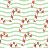 также вектор иллюстрации притяжки corel Тросточка конфеты рождества иллюстрация штока
