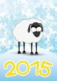 также вектор иллюстрации притяжки corel Овцы Стоковое фото RF
