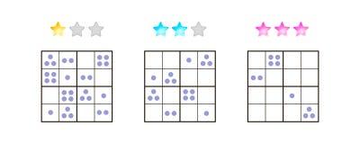 также вектор иллюстрации притяжки corel Sudoku для детей с изображениями на различной Стоковые Фотографии RF