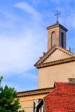 также как место Польша s христианской церков винзавода известное названное старое там возвышаются городок куда zywiec стоковые фото