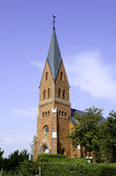 также как место Польша s христианской церков винзавода известное названное старое там возвышаются городок куда zywiec Стоковая Фотография
