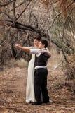 Такие же пары секса танцуя совместно Стоковые Фото
