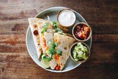 Тако: Фотография еды мексиканской кухни стоковое изображение