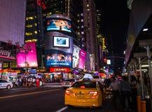 Такси в NYC Стоковые Изображения