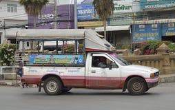 Такси грузового пикапа Стоковые Фотографии RF
