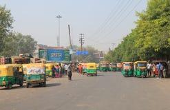 Такси Джайпур Индия мотоцилк tuk Tuk Стоковые Изображения RF