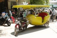 Такси Камбоджа Tuk Tuk Стоковая Фотография