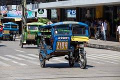 Такси мотора трицикла, Филиппины Стоковые Фотографии RF