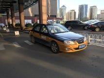 Такси Пекина стоковые изображения rf