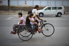 Такси рикши цикла стоковая фотография rf