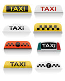 Такси Стоковое Фото