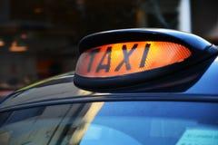 Такси Стоковая Фотография