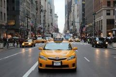 Такси NYC Стоковое Фото