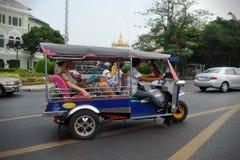 Такси Tuk Tuk в Бангкоке Стоковые Изображения