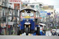 Такси Tuk Tuk в Бангкоке Стоковое Изображение RF