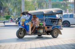 Такси TUK TUK Таиланда. Стоковое Изображение RF