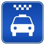 таксомотор знака бесплатная иллюстрация