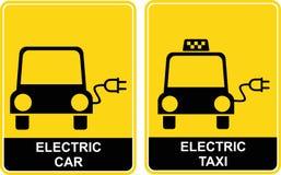 таксомотор световой рекламы автомобиля Стоковое фото RF