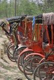 таксомотор станции lumbini Стоковая Фотография