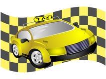 таксомотор флага Стоковое Фото
