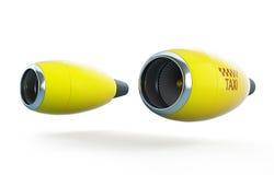 Таксомотор двигателя воздушных судн Стоковые Изображения RF