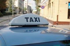 таксомотор Стоковые Фото