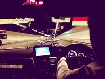 таксомотор Hong Kong Стоковые Фотографии RF