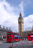 таксомотор london шины Стоковые Изображения