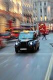 таксомотор london Стоковые Фотографии RF