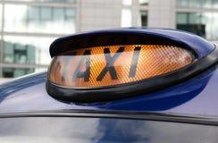 таксомотор london стоковое изображение rf