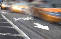 Таксомотор New York Стоковое фото RF