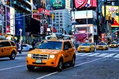 Таксомотор New York City Стоковое фото RF