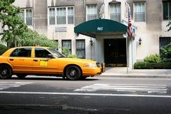таксомотор york nyc кабины новый Стоковые Фотографии RF