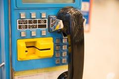 Таксофон стоковые изображения rf