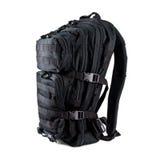 Тактический рюкзак изолированный на белой предпосылке Стоковое фото RF