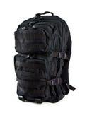Тактический рюкзак изолированный на белой предпосылке Стоковая Фотография
