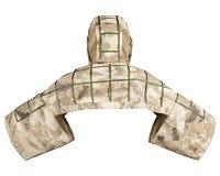 Тактическое камуфлирование для солдат Стоковое Изображение