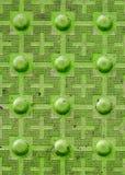 Тактильный вымощать с текстурированной земной поверхностью с маркировками, indic Стоковые Изображения RF