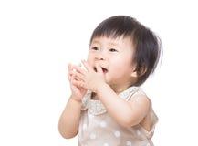 Так возбужденное чувство ребёнка Азии Стоковые Изображения
