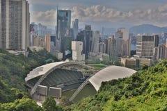 ТАК KON PO, стадион Гонконга Стоковые Изображения RF