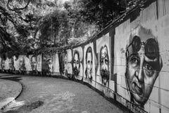 Талантливые граффити Стоковая Фотография RF