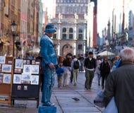 Талантливые художники /Gdansk/Poland/September/2018 улицы стоковая фотография