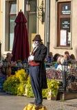 Талантливые художники /Gdansk/Poland/September/2018 улицы стоковое изображение rf
